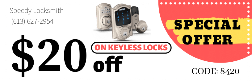 Keyless locks discount