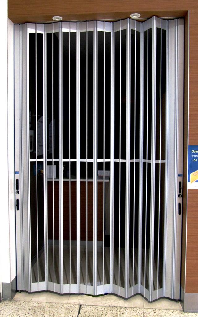 folding grills sliding doors