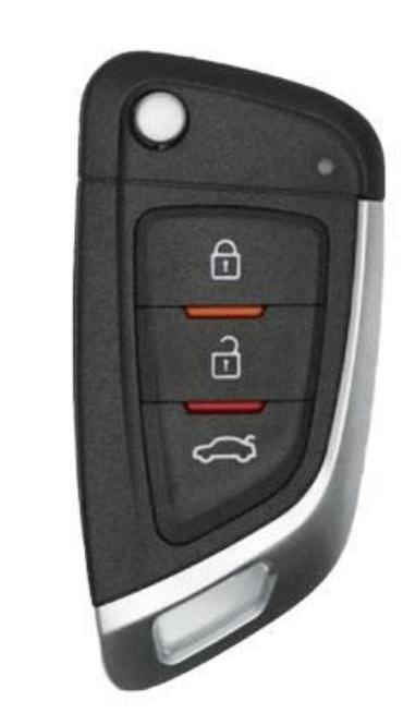 Knife Style : 3-Button Universal Remote Flip Key