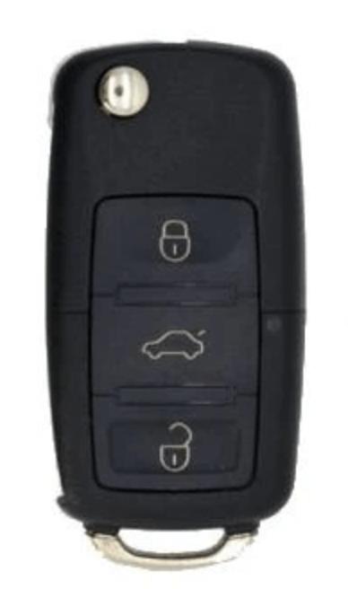 VW Style 3-Button Universal Remote Flip Key