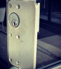 commercial lock and frame protection plate